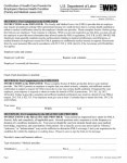 FMLA Medical Certification Form for Employees