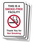 No Smoking Entrance Decals