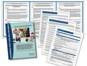 California Paid Sick Leave Compliance Kit