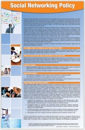 Social Media Policy Poster | Personnel Concepts